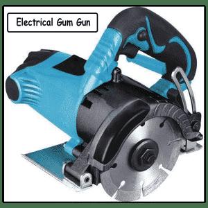 electrical gum gun