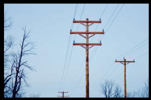 steel electrical pole